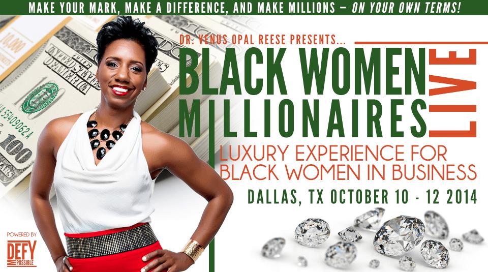 Women Millionaires Live Event