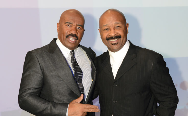 Premiere Entrepreneur, Steve Harvey used his Leverage as a Comedian to Soar Incredible Heights