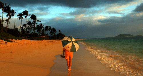 615 woman beach
