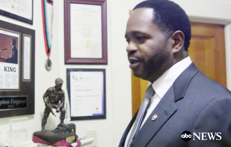 Ex Radio Jock, Stephon Ferguson, Makes Living Imitating Dr. Martin Luther King around the World