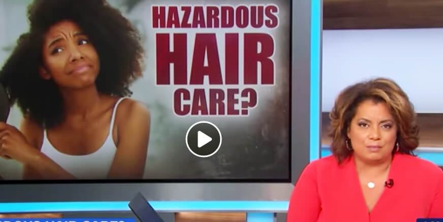 Toxic Chemicals Found in Hair Products for Black Women